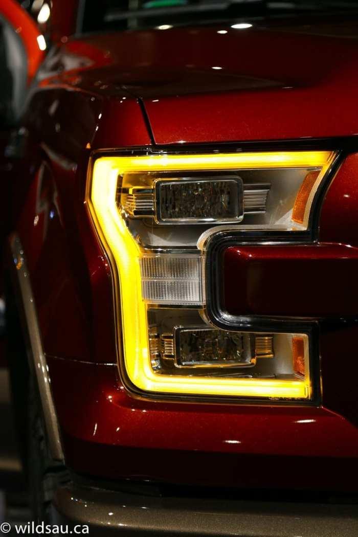 headlight orange LED_