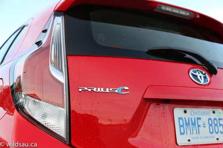 Prius C badge