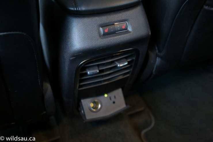rear seat comfort