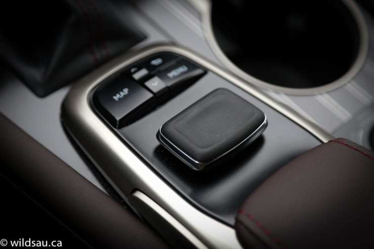 remote touch interface