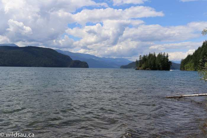 Harrison water mountains