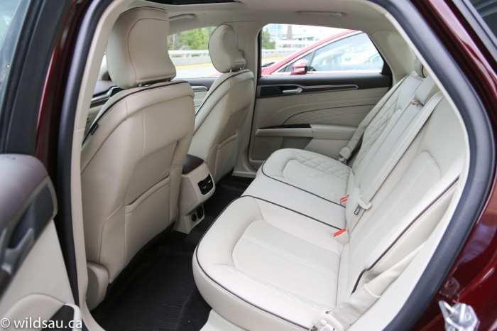 Platinum rear seats