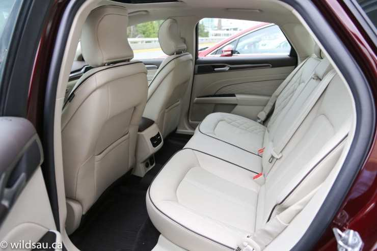 Platinum rear seats
