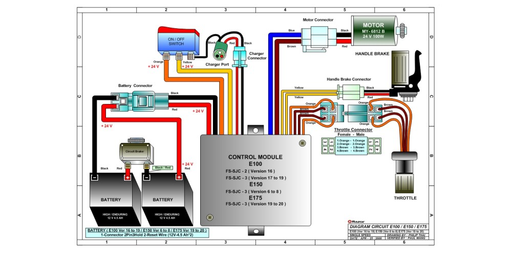 medium resolution of 36v electric scooter wiring diagram daily update wiring diagram24 volt scooter wire diagram diagram data schema