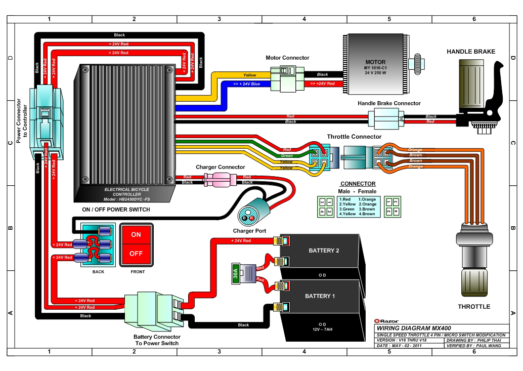 odes atv wiring diagram
