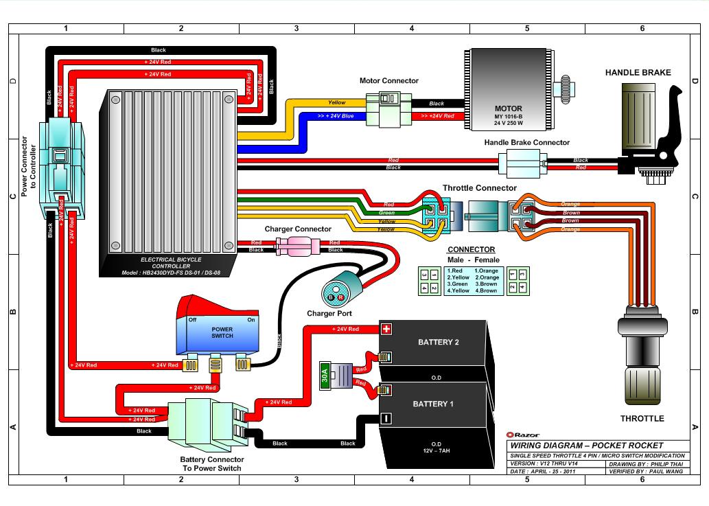 wiring diagram 49cc pocket bike