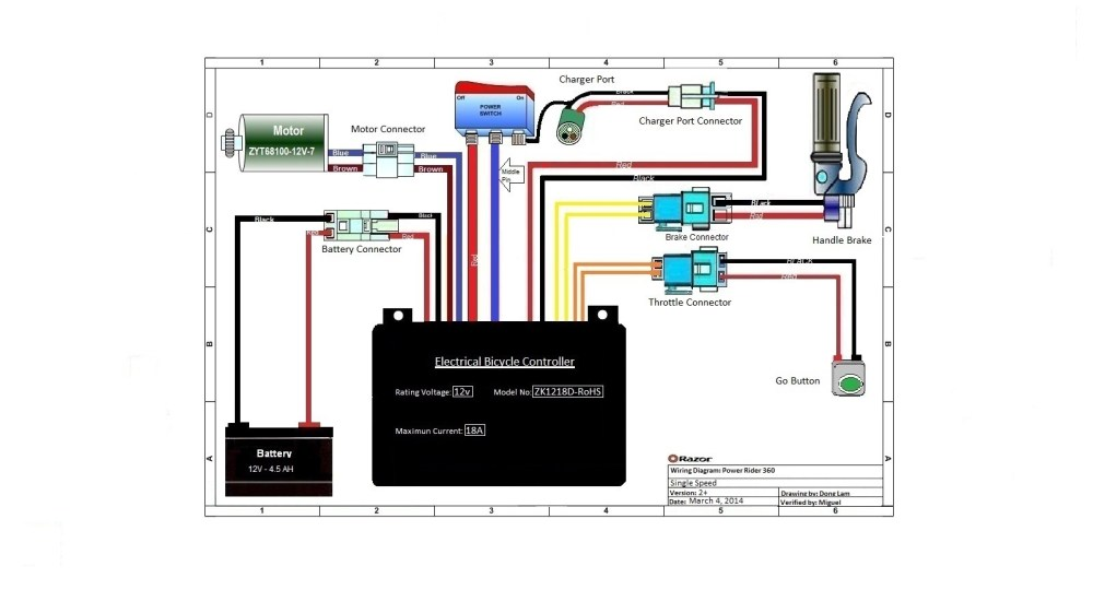 medium resolution of  power rider 360 versions 2 wiring diagram