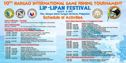 10th Siargao International Game Fishing Tournament