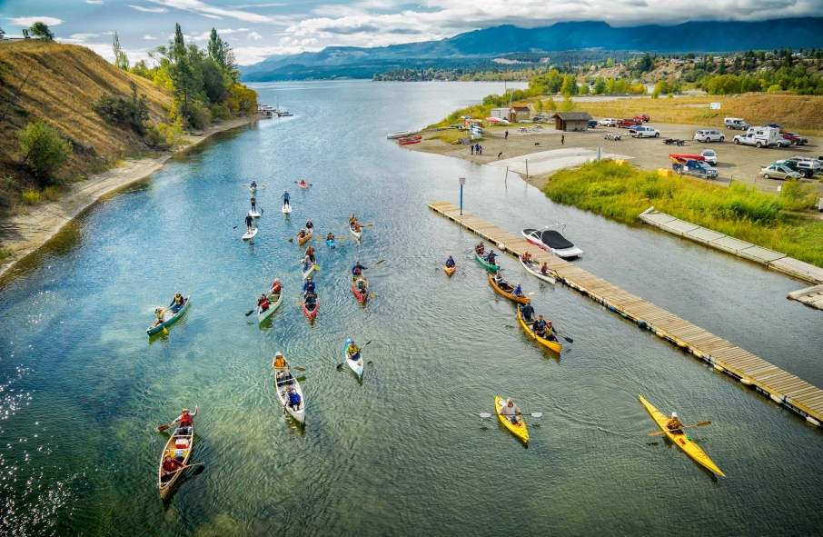 Image result for images canoeing kayaking columbia wetlands