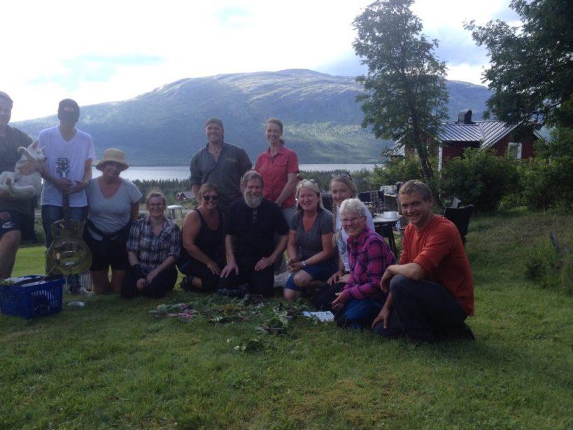 Wild food foraging courses Sweden Åre