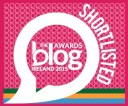 Best Blog Article (Personal) in 2015 Irish Blog Awards
