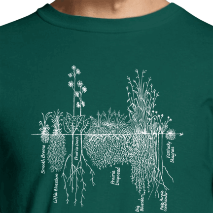 "Roots"" Long-Sleeve Tee"