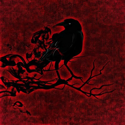 The Morrigan's Blessing | A Battle Prayer | Crow | Red | The Morrigan | Freya Swan | www.WildSwanWoman.com