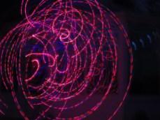Hula hoop fireworks