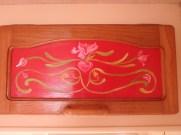 Oak varnish work