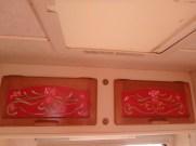 Tole painted cupboard doors