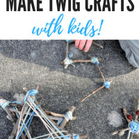 Nature-Based Projects: Twig Crafts with Kids