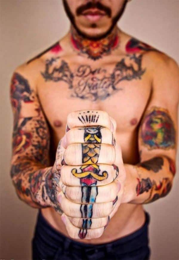 Finger Tattoos For Men : finger, tattoos, Finger, Tattoos, Adore, Fingers, (with, Meanings), Tattoo