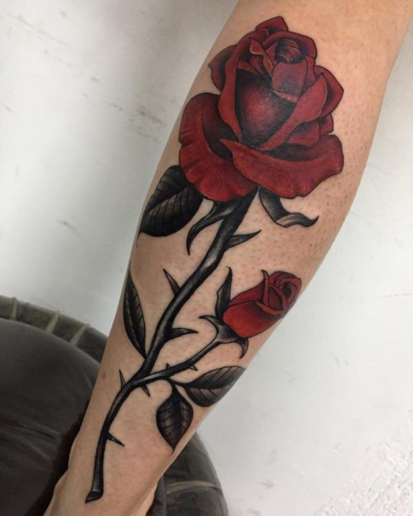 Rose Thorn Tattoo : thorn, tattoo, Tattoos:, Everything, Should, (with, Meanings), Tattoo