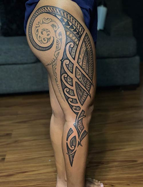 Tribal Spear Tattoo : tribal, spear, tattoo, Tribal, Tattoos, Meanings, Tattoo