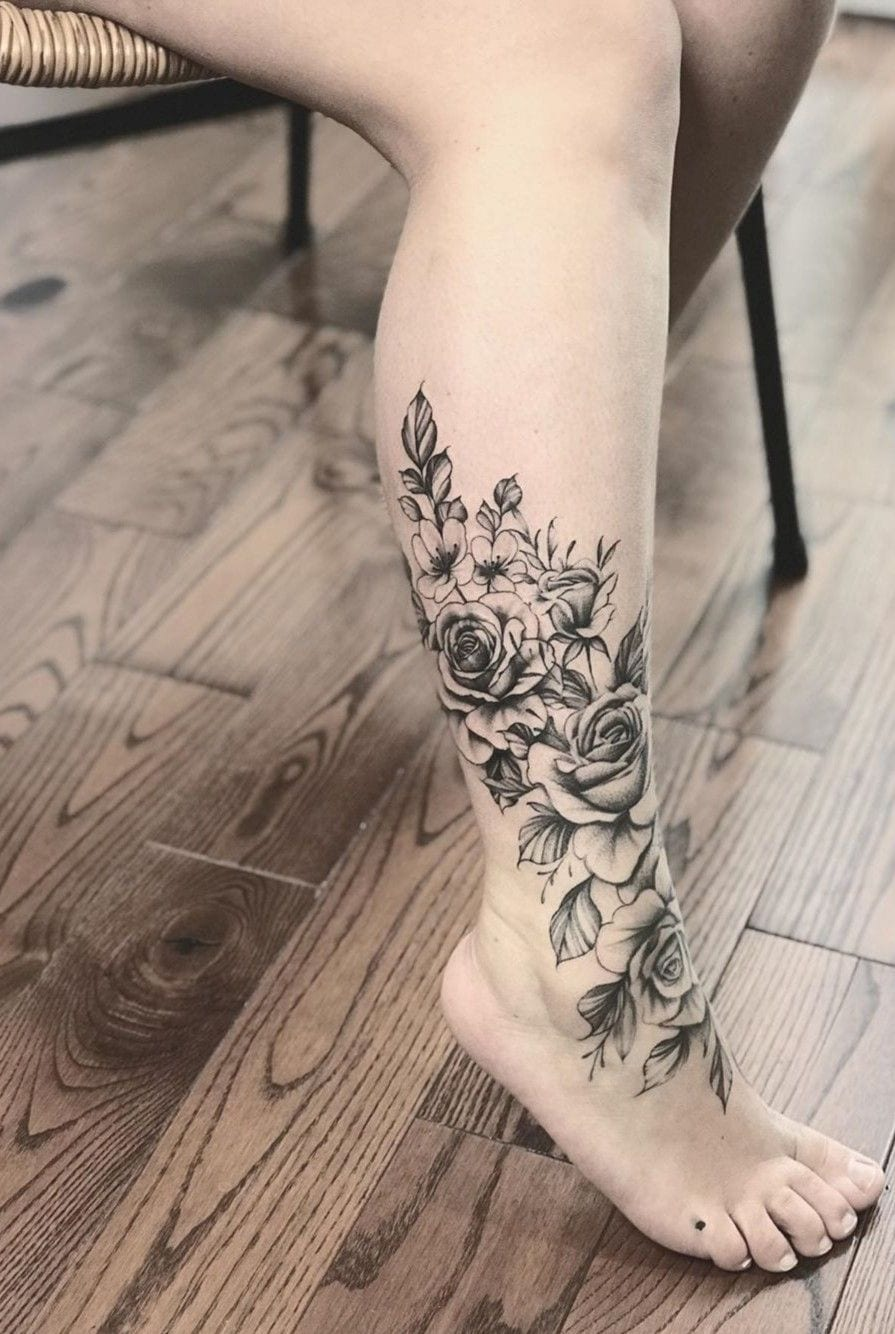 Lower Leg Small Tattoos For Females : lower, small, tattoos, females, Eye-Catching, Tattoo, Ideas, Flaunt, Lower