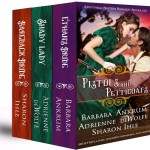 Western historical romance novel anthology, novellas, Barbara Ankrum, Sharon Ihle, Adrienne deWolfe
