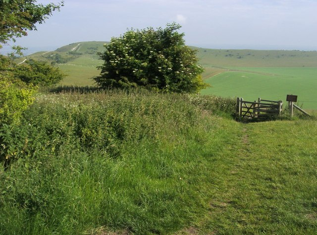 Towards the Ivinghoe Beacon
