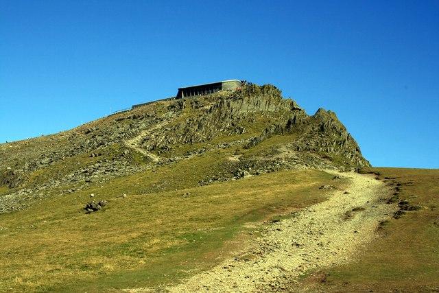 Approaching the summit (Llanberis Path)