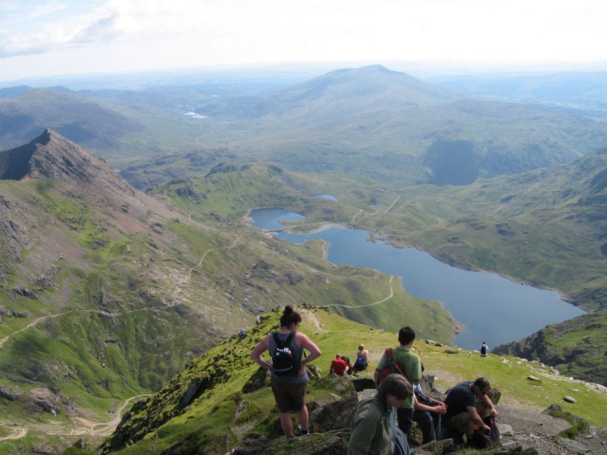 Snowdon by the Miners' Track and the Pyg Track