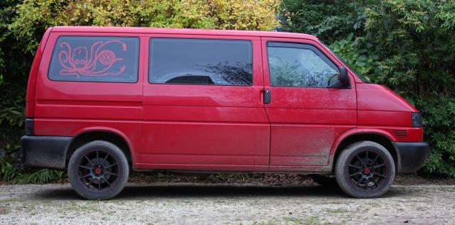 Lowering a VW T4 Transporter Van