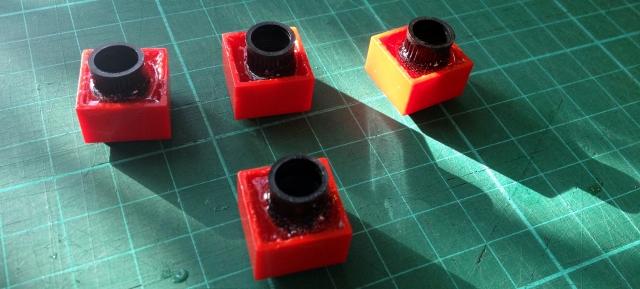 Lego Block Dust Cap