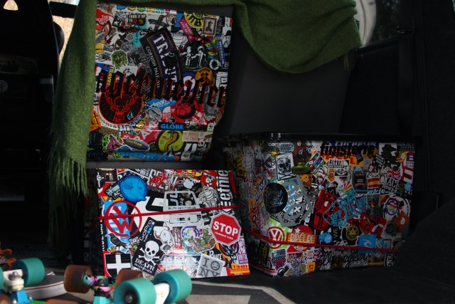 VW Transporter Sub Box Sticker Bomb 7
