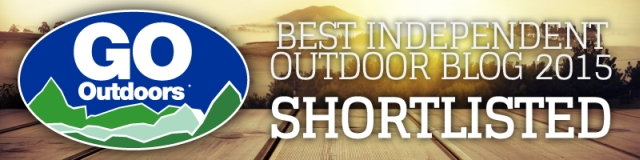 Wild Tide shortlisted for the GO Outdoors Independent Blog Awards 2015!