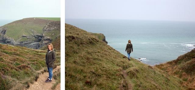 Porth Cadjack Beach Cornwall Coastal Path