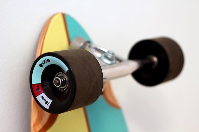 Oxelo Logo Skateboard Wheels