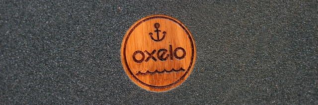 Oxelo Logo Skateboard