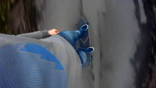 Oxelo Skateboard GoPro
