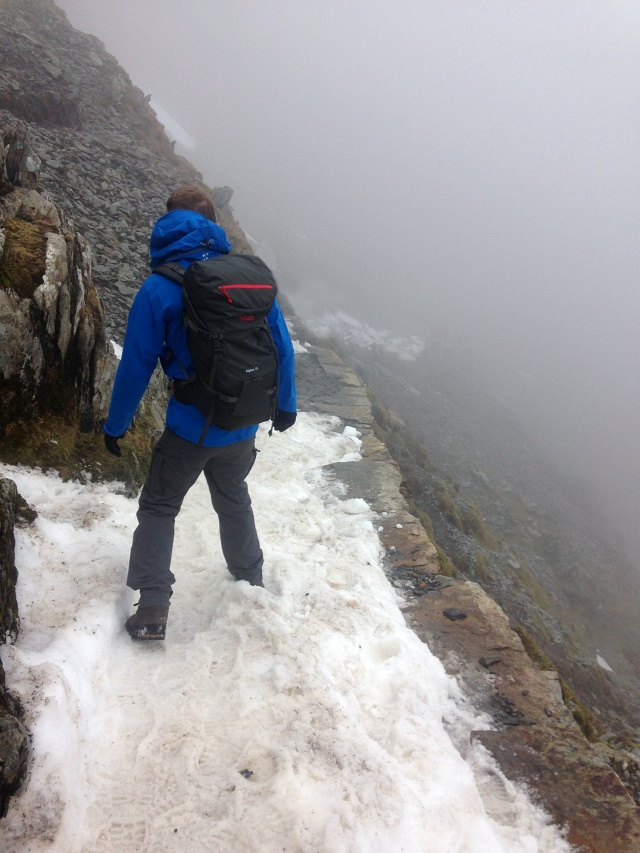 Climbing Snowdon with Helly Hansen and SmartWool Review