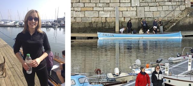 Gig Mylor harbour