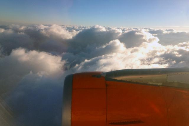 Flight Clouds Plane