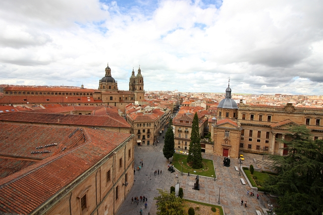 Salamanca View From Cathedral
