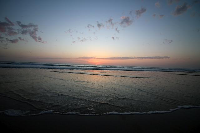 Sunset Cornwall Beach