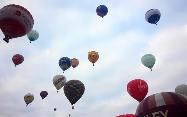 Lion Balloon Longleat Hot Air Balloon