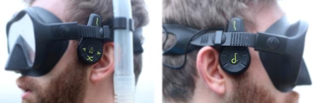 Finis Duo Snorkel mask