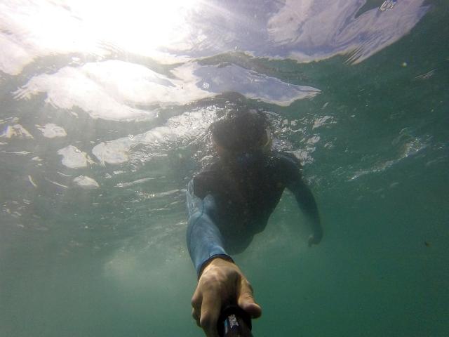 Go Pro Sea Swimming