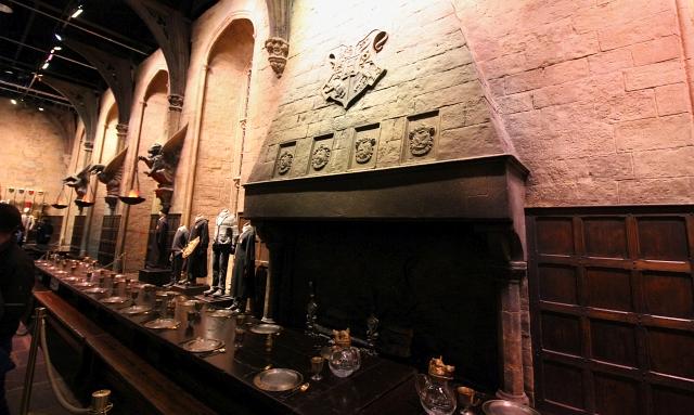 Harry Potter Studio Grand Hall Main Fire