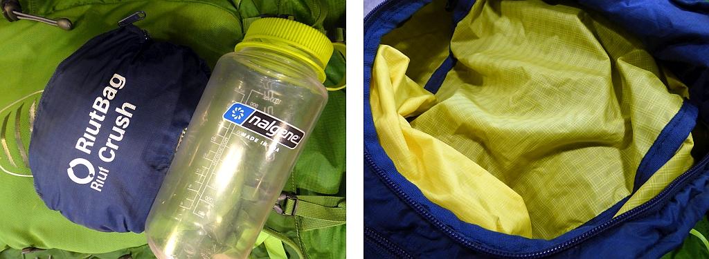RiutBag Crush Bag Travel Review Daypack