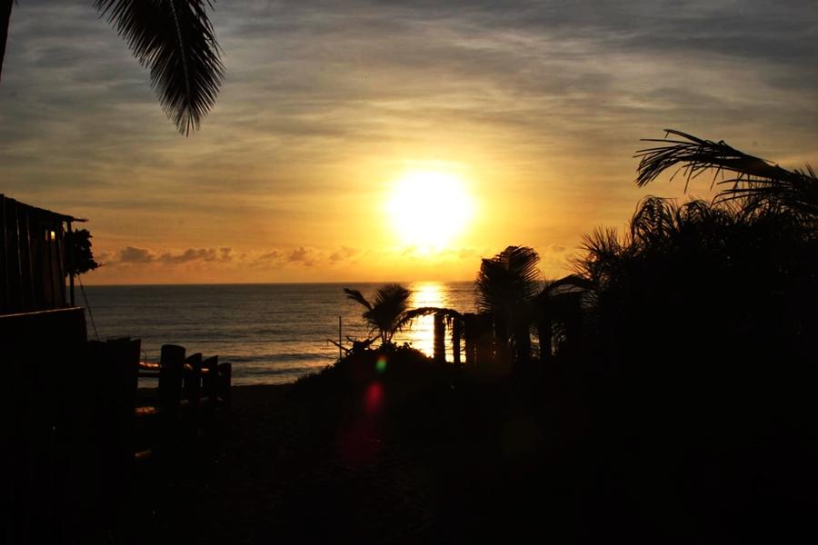 Caraíva Sonnenuntergang