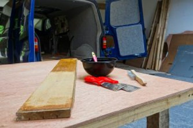 Building Bluebell Wild Van