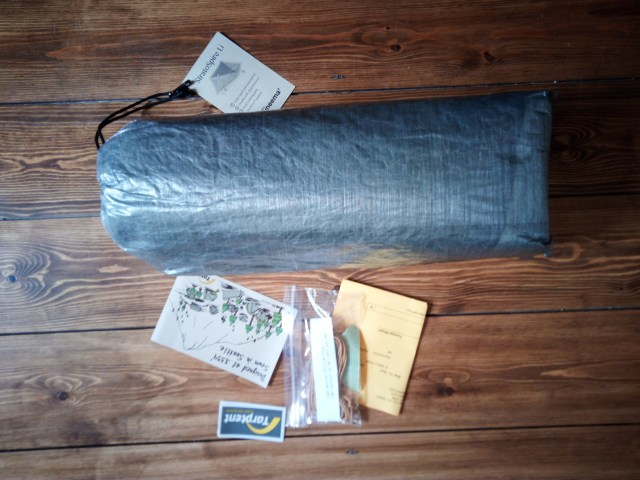 Packaging of the Tarptent Stratospire Li